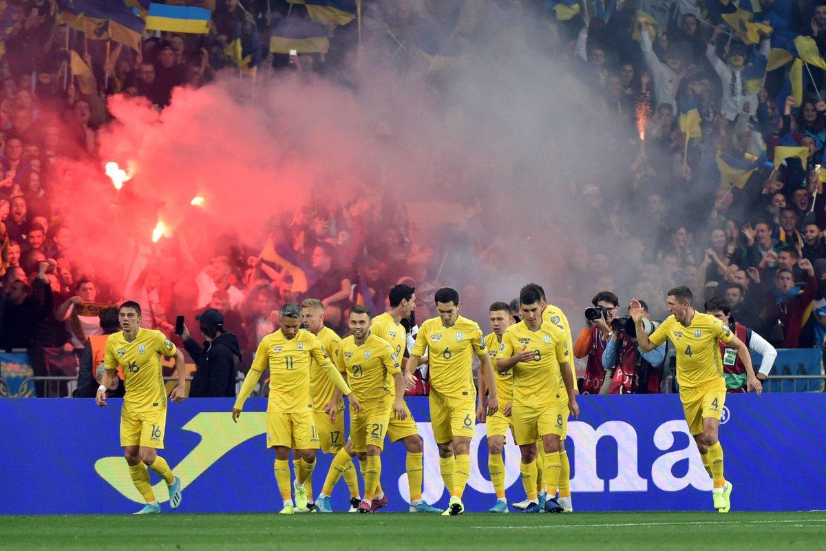 Украина - Португалия 2:1 Евро 2020