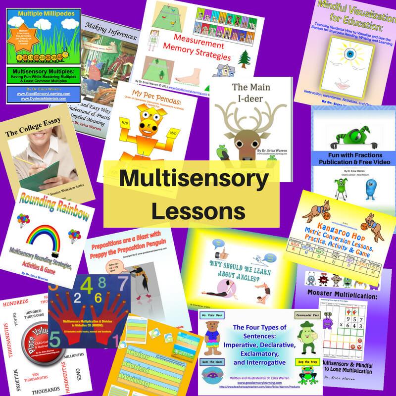 Multisensory Lessons