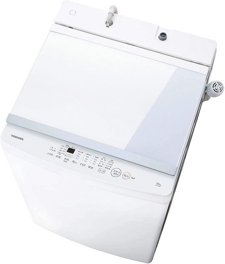 東芝 洗濯機 10kg