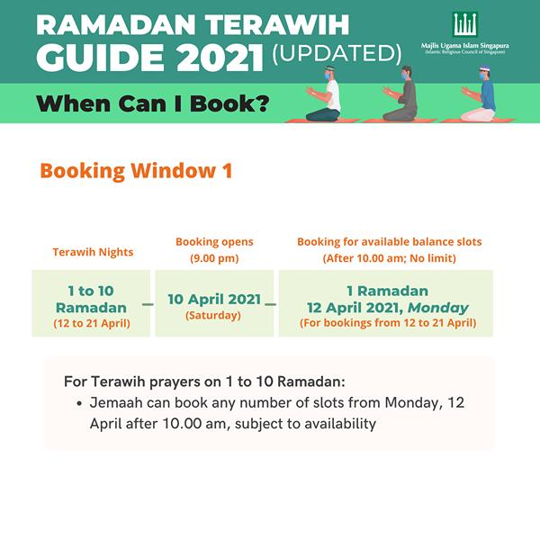 terawih booking 2021