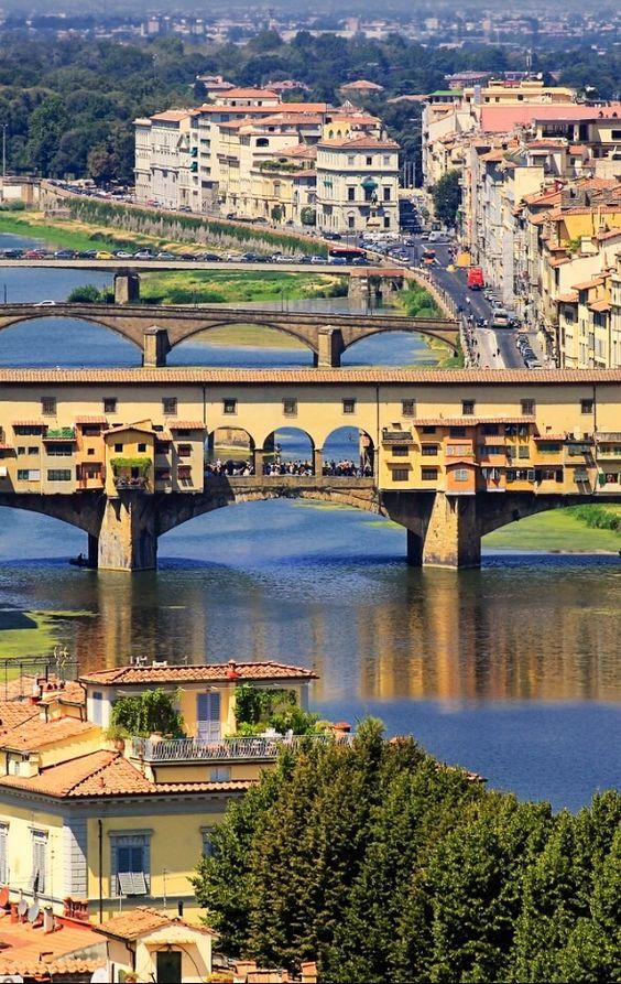 Puente Vecchio, Florencia, Italia: