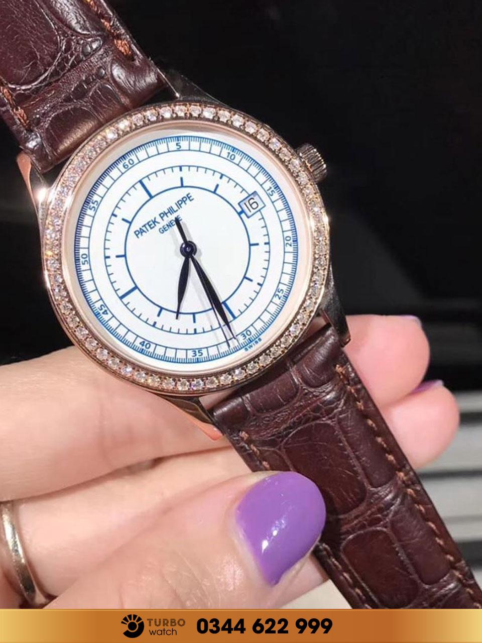 Đồng hồ Patek philippe chế tác vàng nguyên khối 18k