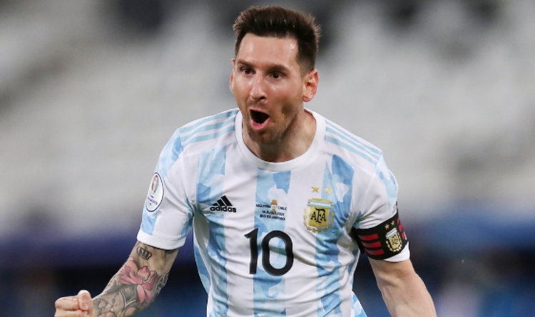 Messi has four goals and five assists in his last six games for the national team. He is the top scorer and assistant in the America's Cup. Argentina will face Brazil in the final.
