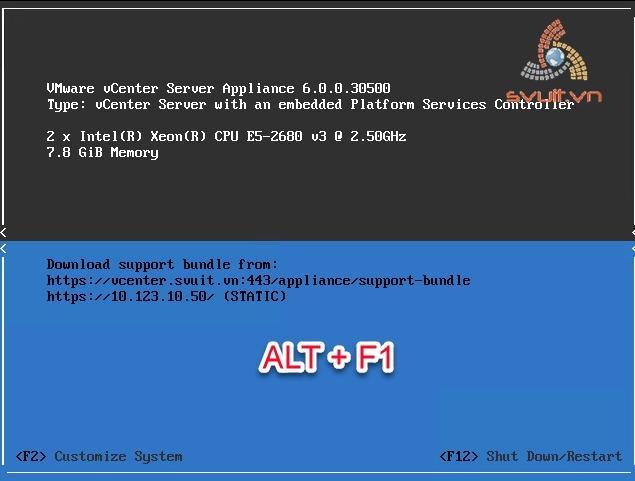 configure ntp on vcenter appliance 6 (1)