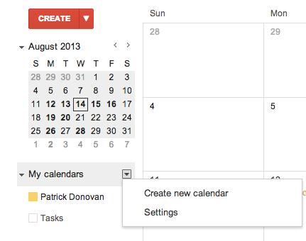 Sharing A Google Calendar With Students Ahs Technology Integration