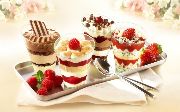 Visit a specialized ice-cream shop or order a bunch of this sweet and cold dessert to have 14th February Recorded on  Mind for a long time