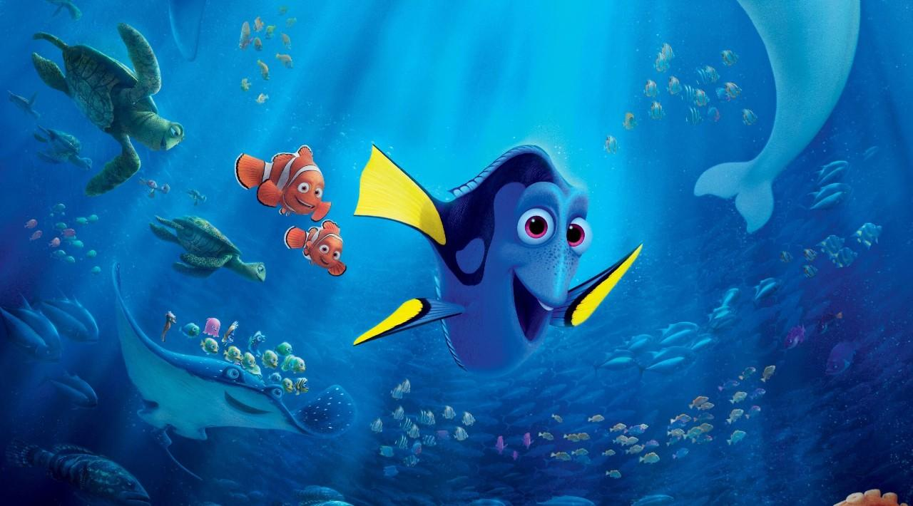 Dory – the absent minded fish girl