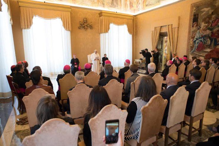 Diễn từ của Đức Thánh Cha tại Hội nghị Khoáng đại lần thứ nhất của Quốc vụ viện Truyền thông