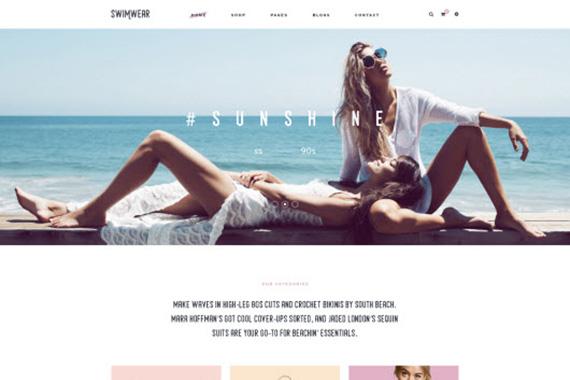 Ves Swimwear - Magento free themes