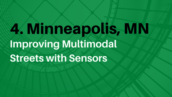 Improving multimodal streets with sensors