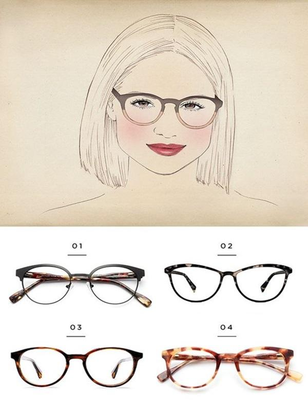 Gọng kính mặt tròn mẫu nào đẹp nhất?