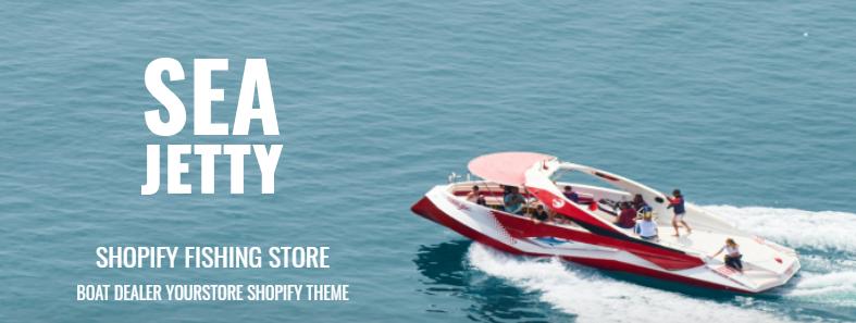 modern fishing store shopify theme