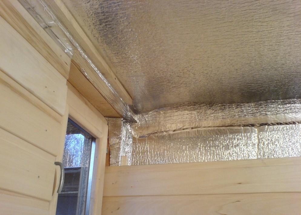 Пароизоляция в системе утепления деревянного дома