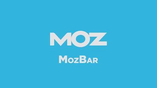 MozBar Chrome Extension