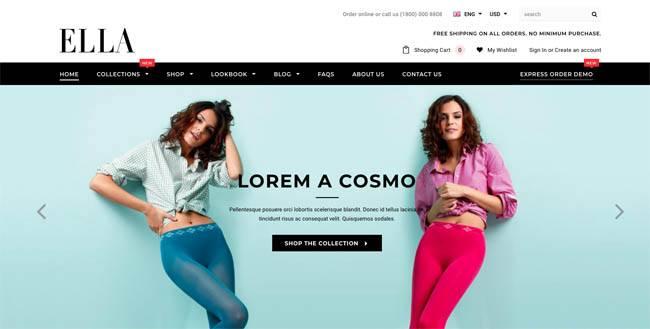 Ella - premium Shopify theme