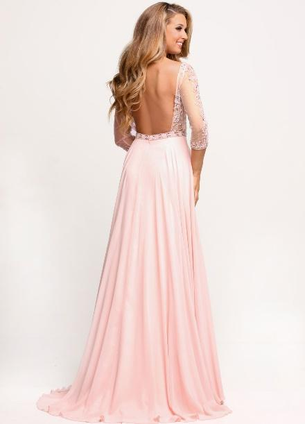 Image showing back view of style #71708