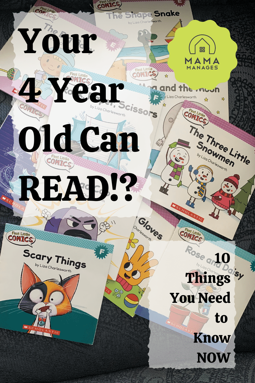 10 ways to support an early reader pin