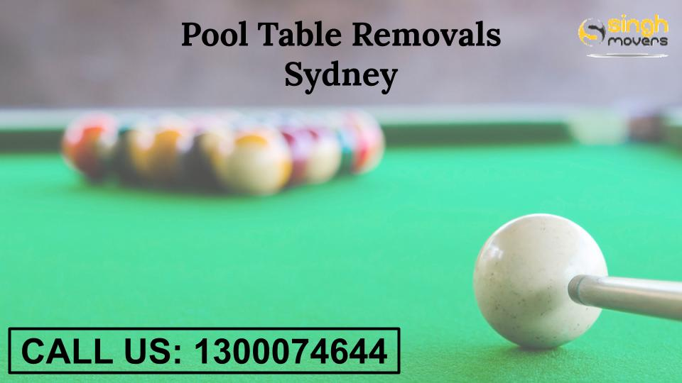 pool table removals sydney