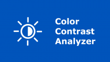 How to Test Color Contrast using the Color Contrast Analyser