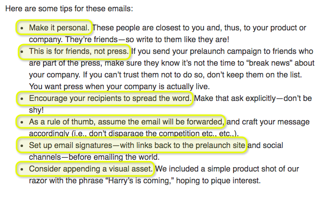 Success of Harry's word of mouth marketing
