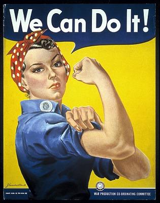 WWII Women's Recruitment Poster