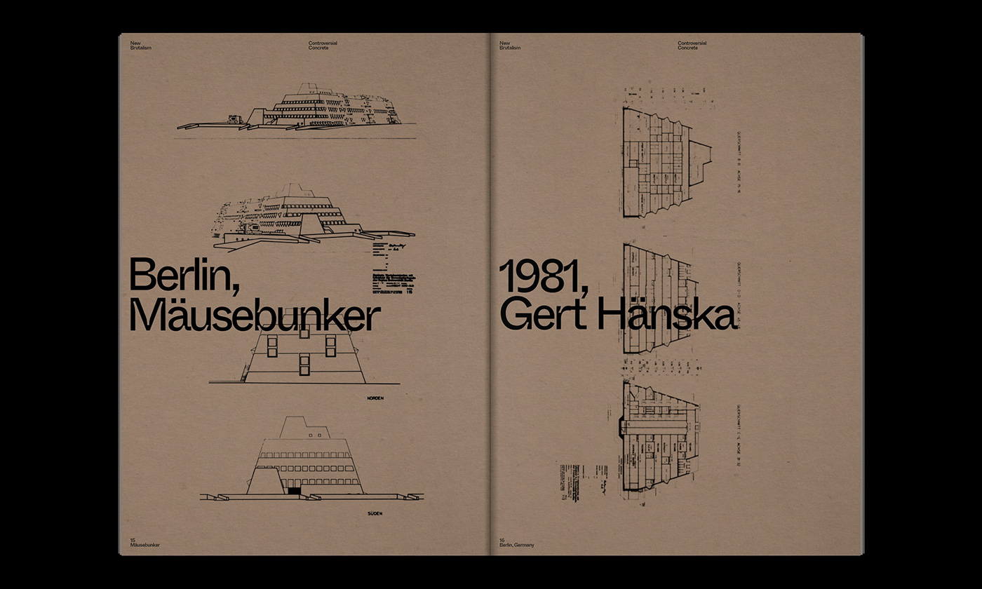 Editorial Design : New Brutalism Controversial Concrete 12