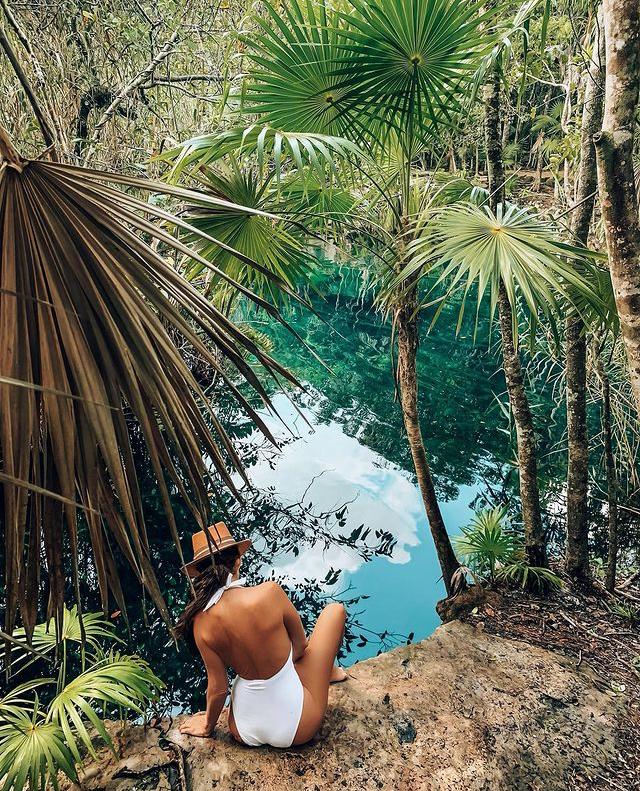 Cenote Escondido en Tulum