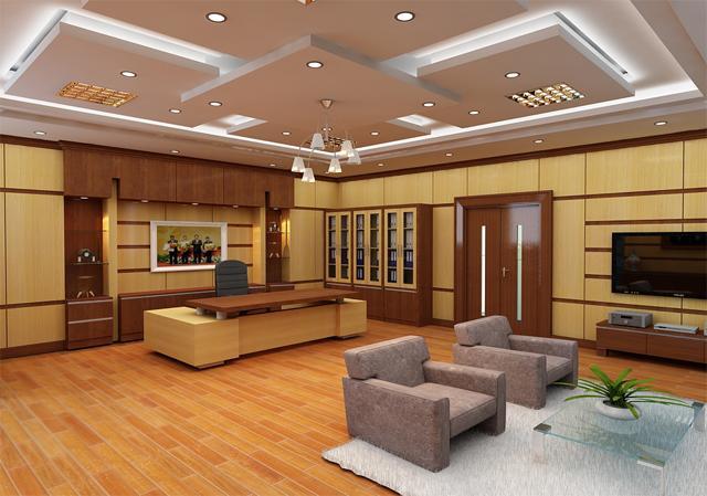 Image result for thiết kế nội thất phòng giám đốc