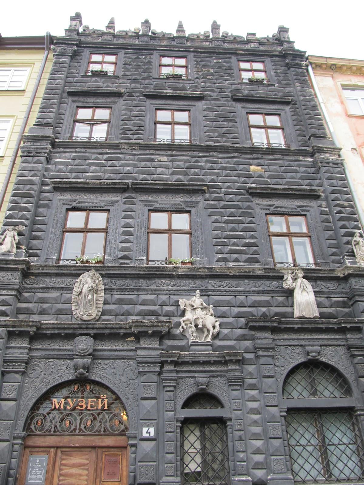 Czarna Kamienica - ренесанська архітектура