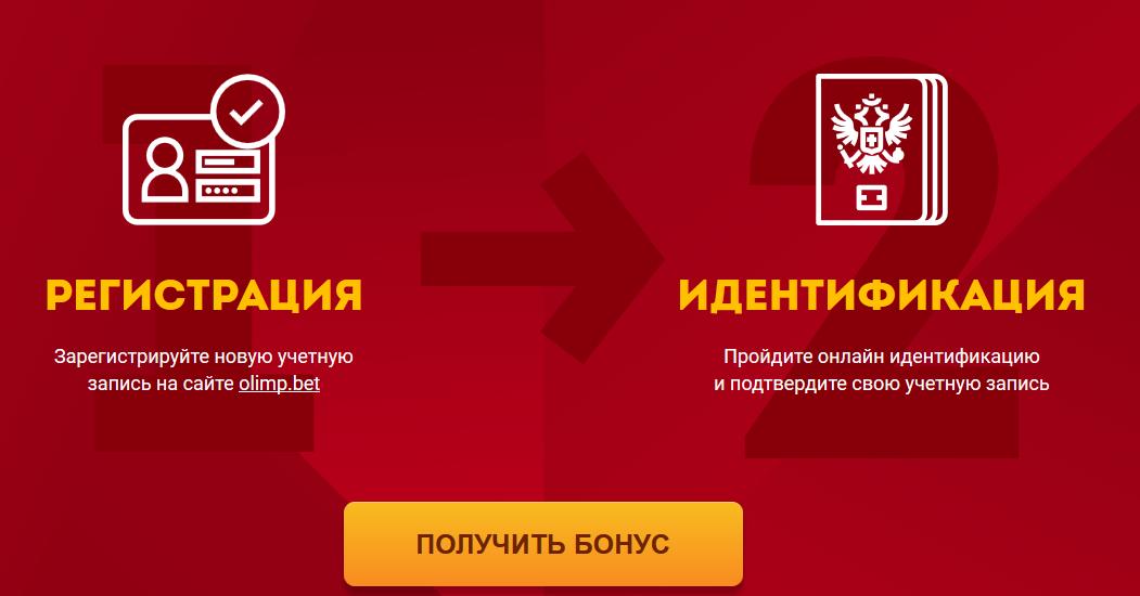 Бонуси від бк Олімп при реєстрації від 500 до 10000 грн