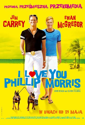 Polski plakat filmu 'I Love You Phillip Morris'