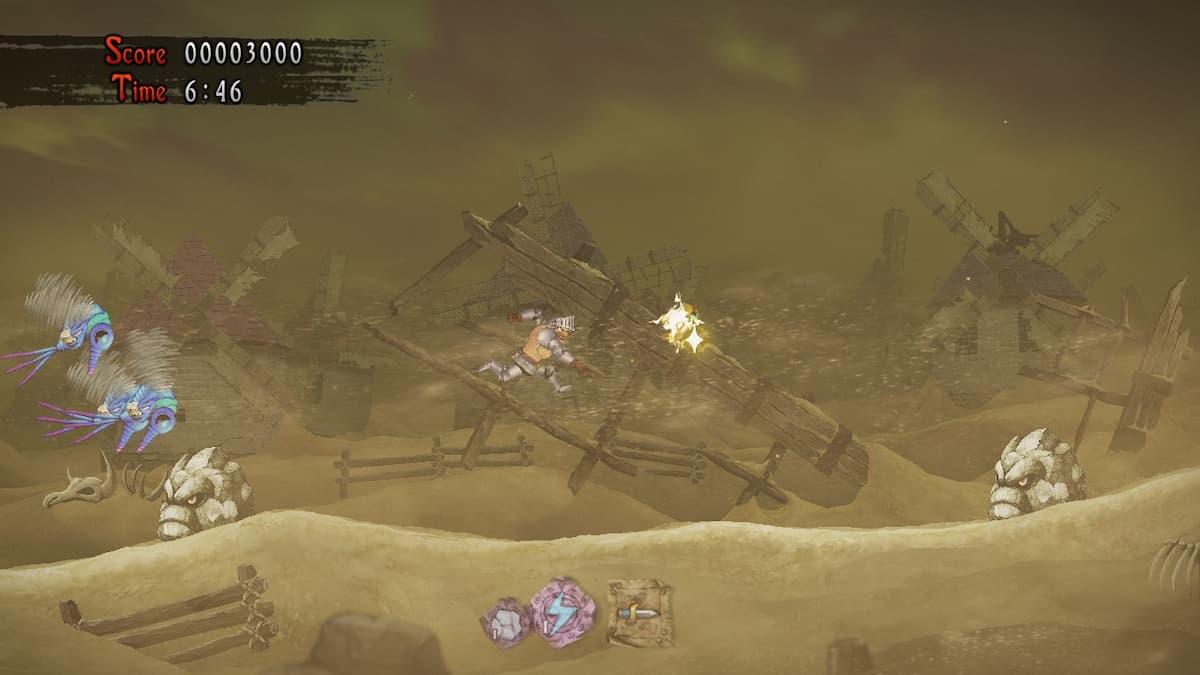 Ghosts 'n Goblins Resurrection Hellfire Hamlet Bee 3
