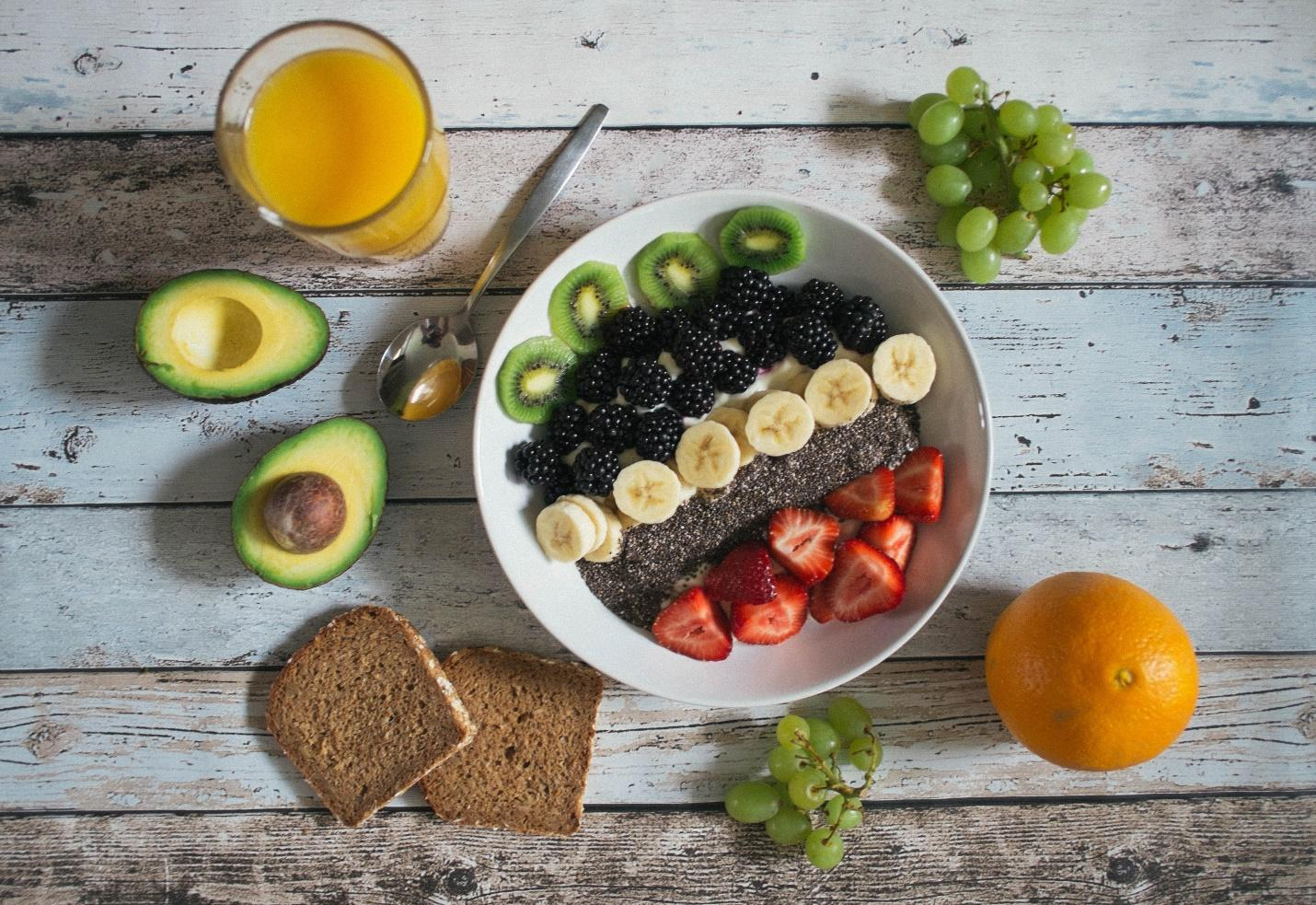 Vegan diet for weight loss - fruits