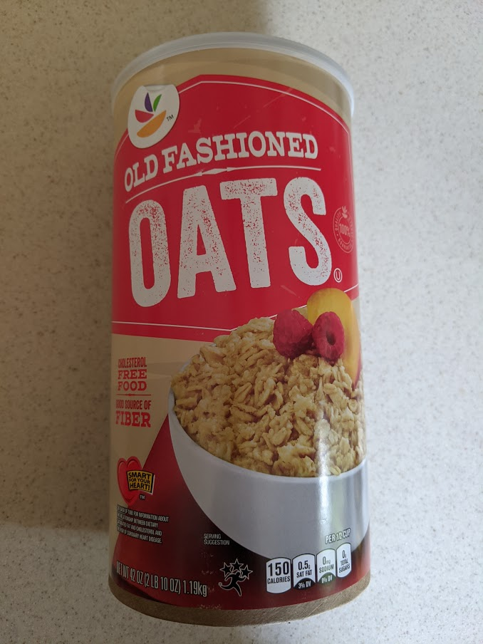 Box of Old Fashion Oats