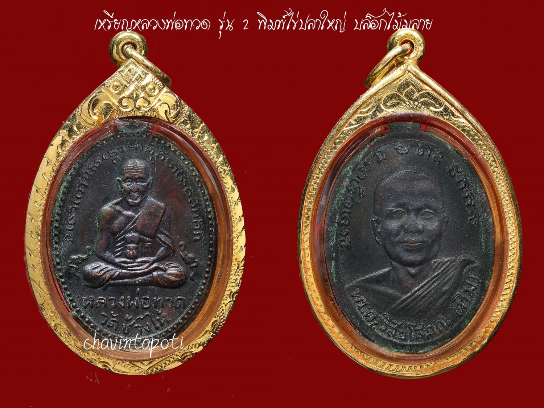 6. เหรียญหลวงพ่อทวด รุ่น 2 วัดช้างไห้ ปี 2502