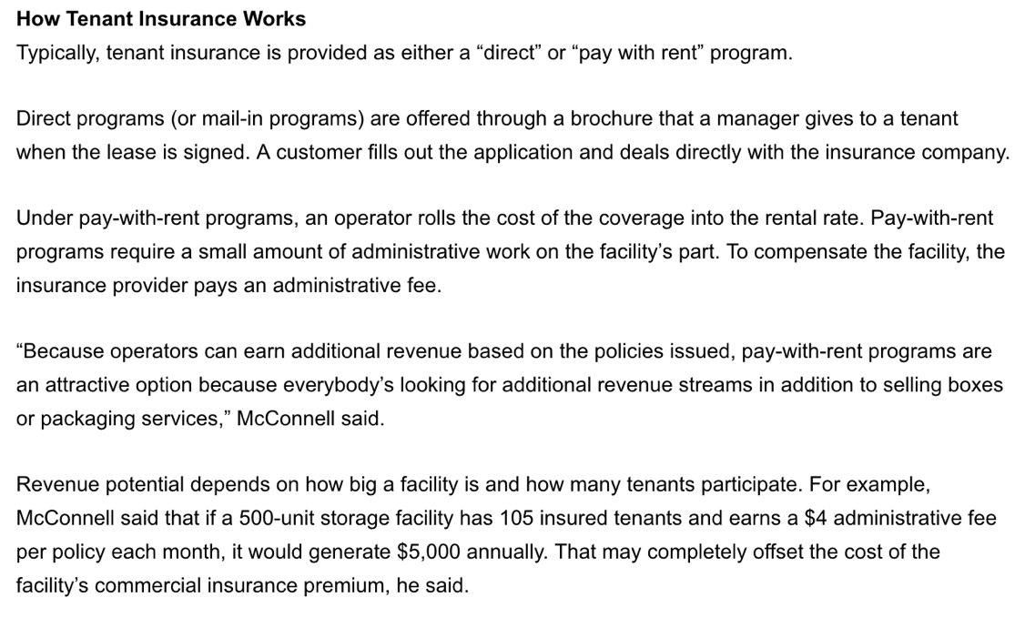 How Tenant Insurance Works