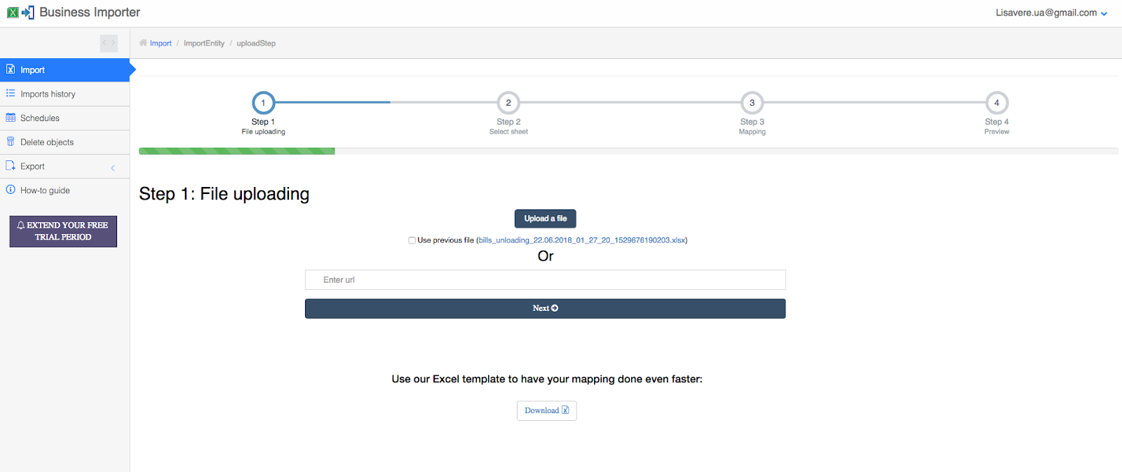 How to import the orders and Invoices from Precoro to my