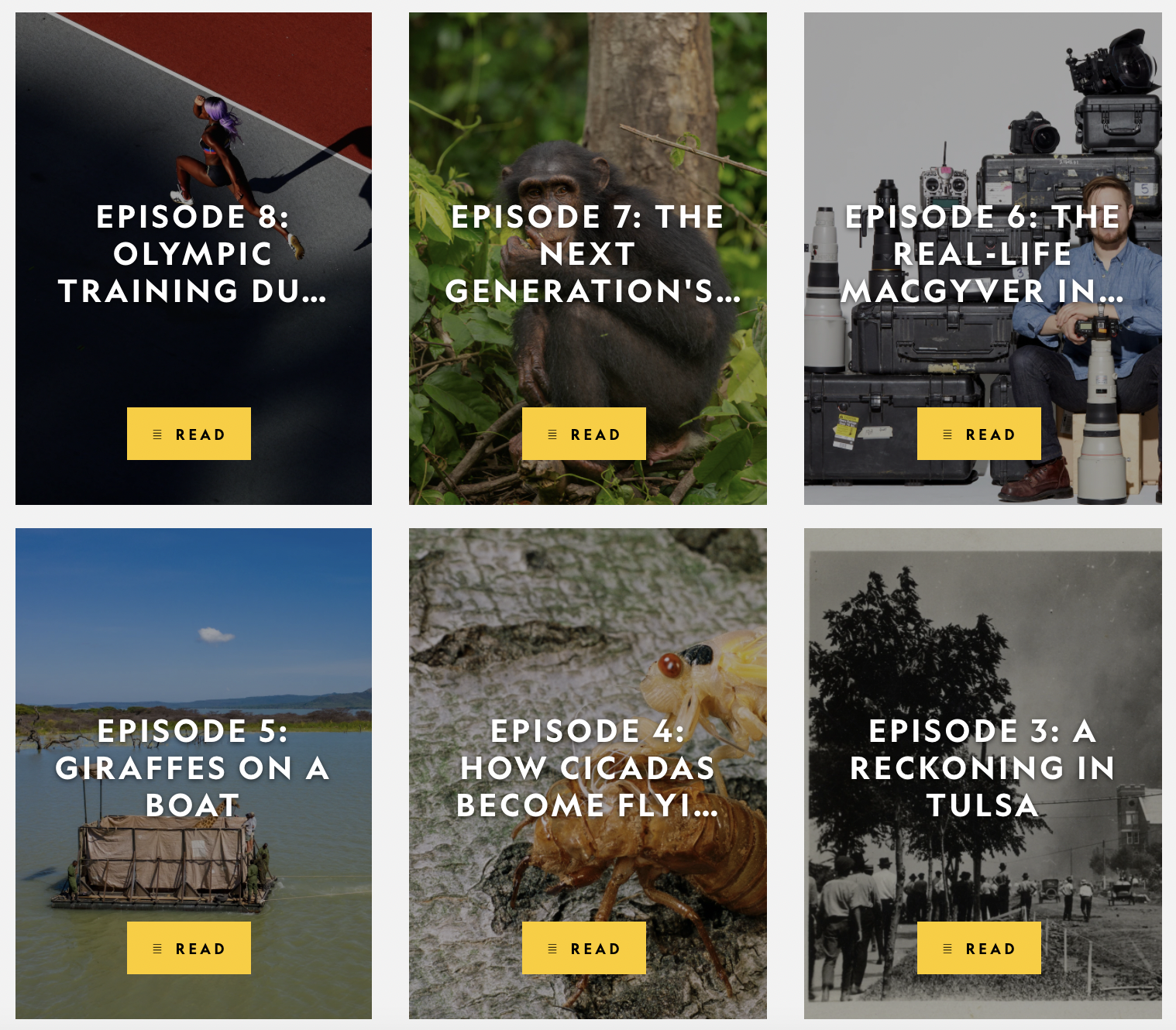 National Geographic podcast