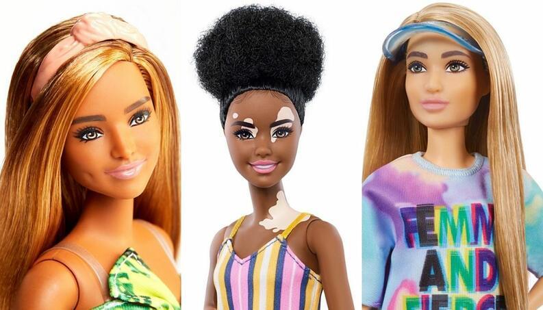 collage diversidad barbie 2