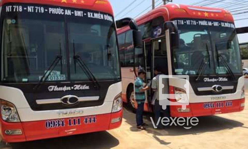 Xe Thuận Hiếu từ Sài Gòn đi Dak Lak