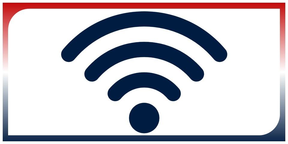 decorative wifi icon
