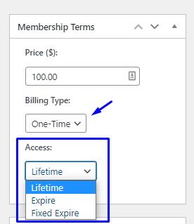 Membership Terms