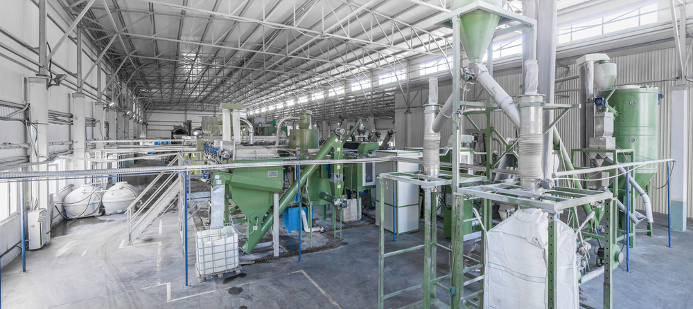 Plastic Recycling Business Machine