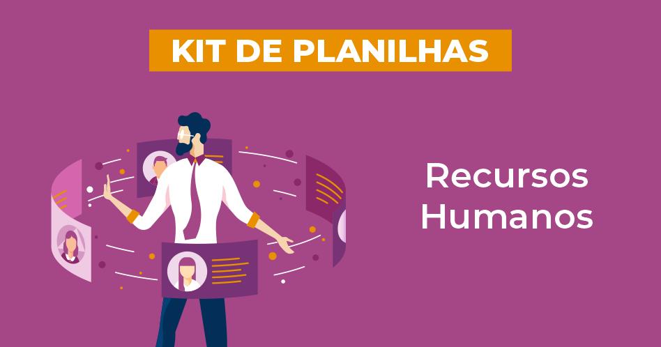 kit de planilhas recursos humanos