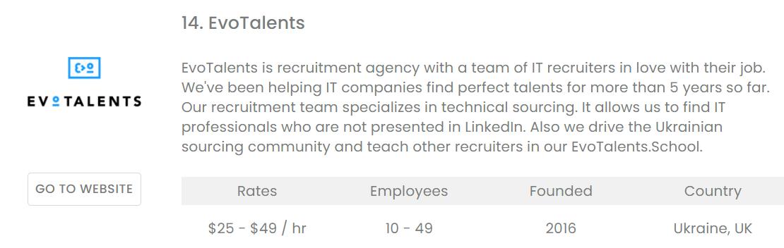 IT, Recruiting, HR