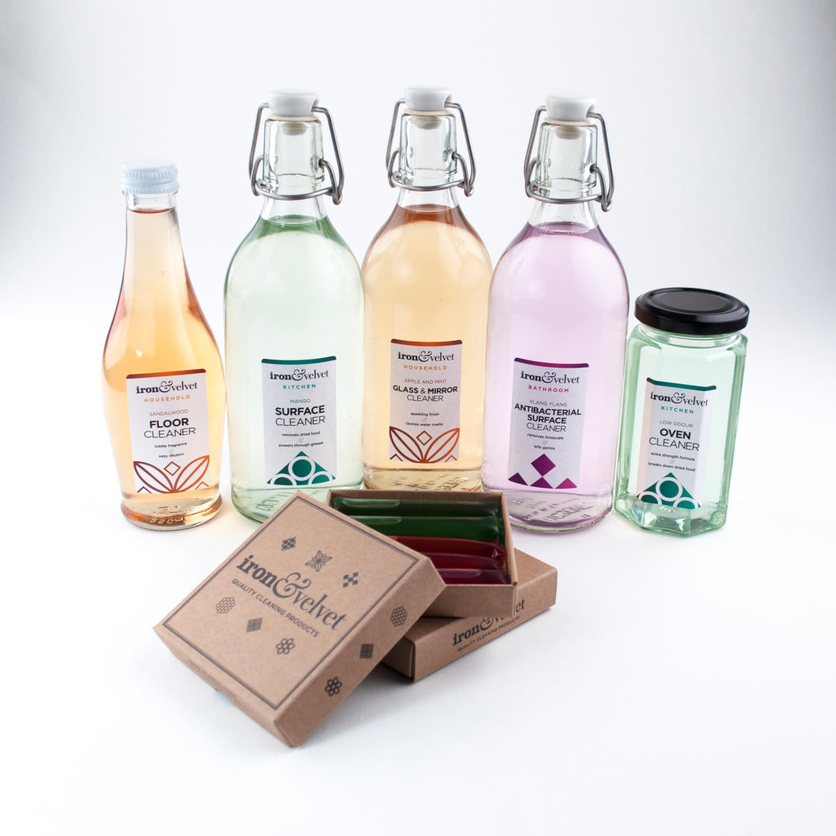eco friendly kitchen cleaner refill packs