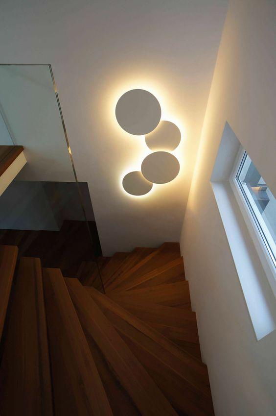 Đèn cầu thang đèn LED