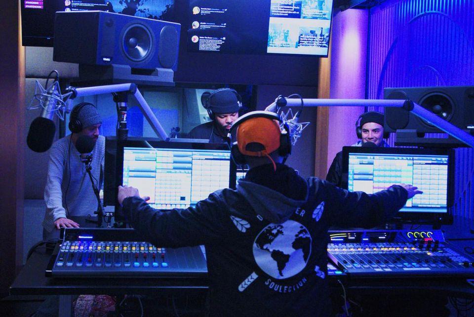 Beats 1 Radio. Photo: Jacqueline Schneider/Soulection