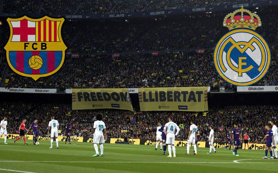 El Clásico entre Barcelona y Real Madrid estaba programado para el 26 de octubre. (AFP)