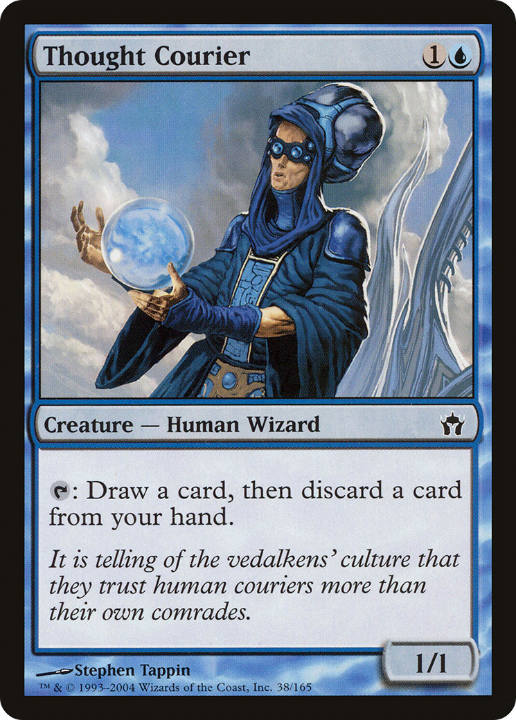 Thought Courier MTG Card